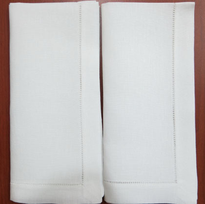 2 Hemstitch white linen (2)