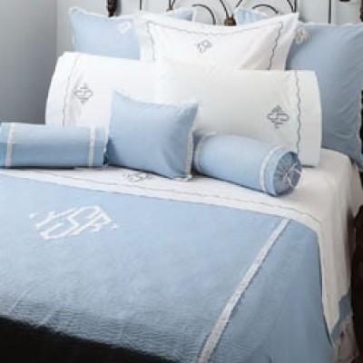 Monogrammed Bedding Set
