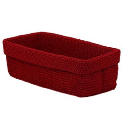 Hand Crocheted Storage Basket